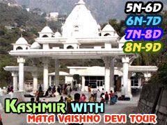 Hot Deals on Kashmir with Mata Vaishnodevi